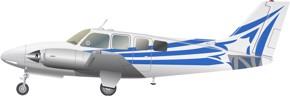 Beechcraft Baron 58P Image